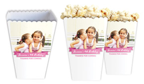 Banner Photo Personalised Popcorn Boxes