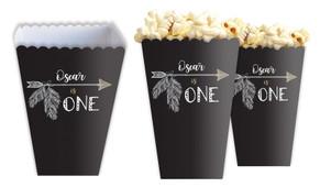 Boho Arrow Personalised Popcorn Boxes