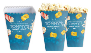 Movie Nights Personalised Popcorn Boxes