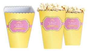 Little Princess Personalised Popcorn Boxes