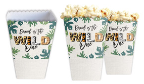 Wild One Personalised Popcorn Boxes
