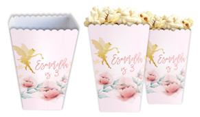 Little Fairy Personalised Popcorn Boxes