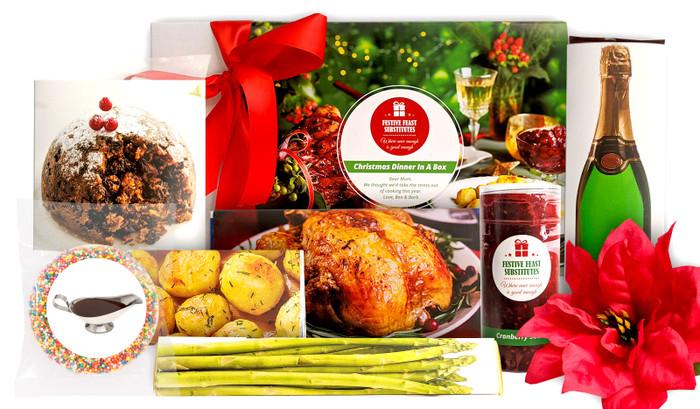 Christmas Dinner Personalised Chocolate Hamper