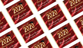 Red Curtain Personalised Graduation Mini Chocolates