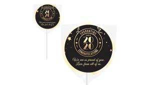 Badge Year Personalised School Graduation Lollipops