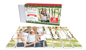 Branches And Banner Personalised Christmas Chocolate Puzzle (48-Piece)