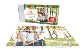 Branch Border Personalised Christmas Chocolate Puzzle (48-Piece)