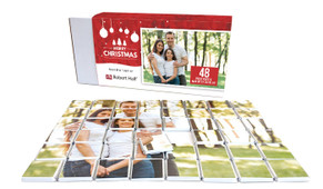 Corporate Personalised Christmas Chocolate Puzzle (48-Piece)