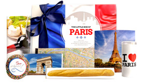 Little Box Of Paris Personalised Chocolate Hamper