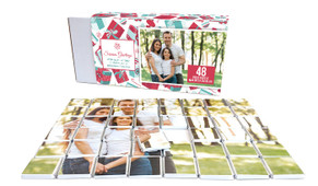 Gifts Of Christmas Personalised Chocolate Puzzle (48-Piece)