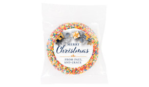 Navy Gold Gifts Christmas Custom Giant Chocolate Freckle