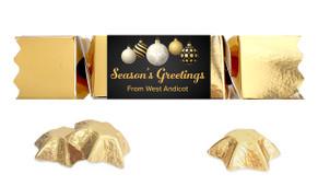 Luxury Black Personalised Christmas Bon Bon