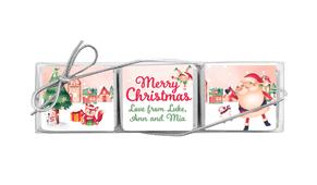 Christmas Village Mini Chocolate Trio Favour