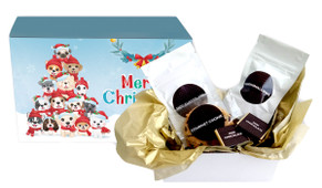 Christmas Puppies Personalised Hot Chocolate Kit