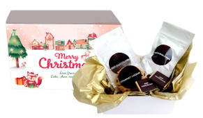 Christmas Village Personalised Hot Chocolate Kit