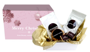 Pink Theme Christmas Personalised Hot Chocolate Kit
