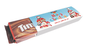 Christmas Puppies Customised Packet Of TimTams TM