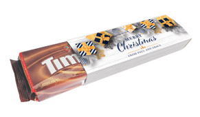Navy Gold Gifts Christmas Customised Packet Of TimTams TM
