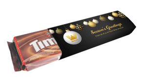 Luxury Black Christmas Customised Packet Of TimTams TM