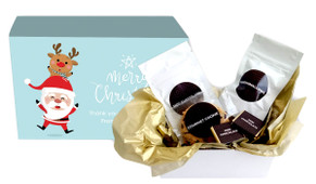 Piggy Back Christmas Personalised Hot Chocolate Kit