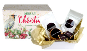Beautiful Bird Christmas Personalised Hot Chocolate Kit