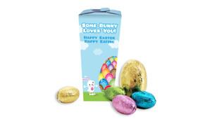 Big Egg Bunny Personalised Easter Egg Chocabox