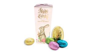 Beautiful Bunny Personalised Easter Egg Chocabox