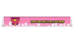 Super Mum Personalised Toblerone Mother's Day Chocolates