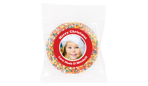 Add A Photo Christmas Personalised Chocolate Freckle