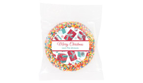 Gifts Of Christmas Personalised Chocolate Freckle
