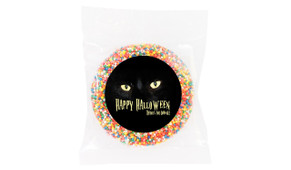 Cats Eyes Personalised Halloween Chocolate Freckle