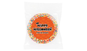 Creepy Text Personalised Halloween Chocolate Freckle