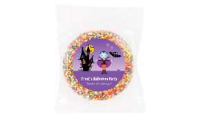 Halloween Vampire Personalised Chocolate Freckle