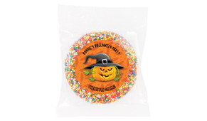 Laughing Pumpkin Personalised Halloween Chocolate Freckle