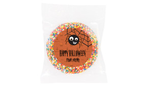 Spider Personalised Halloween Chocolate Freckle