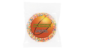 Basketball Personalised Chocolate Freckle