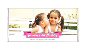 Banner Photo Personalised Chocolate Bar