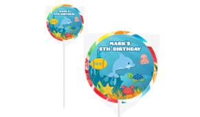 Under The Sea On Rainbow Lollipops