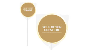Use Your Own Completed Design Lollipops