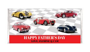 Cars Of Yesteryear Father's Day Custom Chocolates