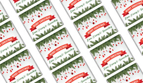 Branches & Banner Christmas Mini Chocolates