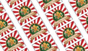 Gingerbread Man Christmas Mini Chocolates