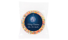 Blue Ornament Chocolate Freckle