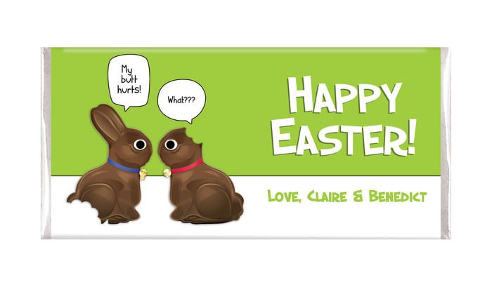 Chocolate Bunnies Easter Chocolate