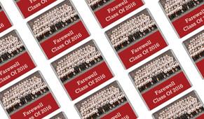 Class Photo School Graduation Mini Chocolates