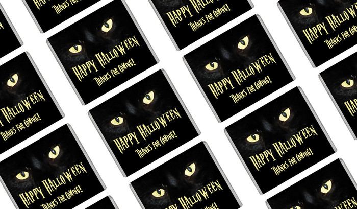 Cats Eyes Halloween Mini Chocolates