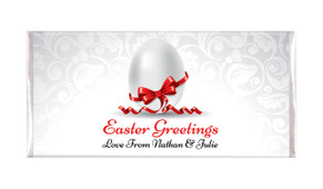 Classic White Easter Personalised Chocolates