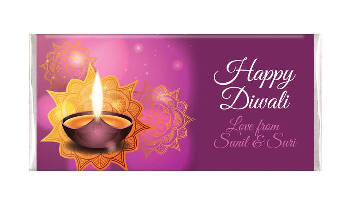 Festive Flames Personalised Diwali Chocolates