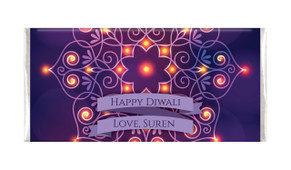 Lantern Mandala Diwali Personalised Chocolates