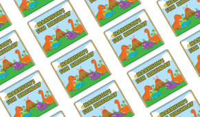 Dinosaurs Birthday Mini Chocolates